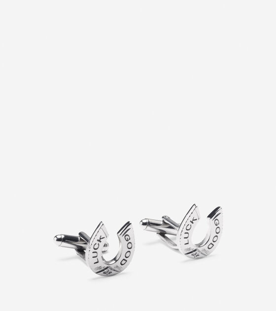 Accessories > Good Luck Horseshoe Cuff Links