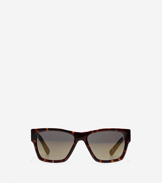 Accessories > Modern Acetate Rectangle Sunglasses