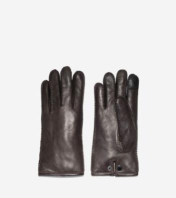 Snap Button Gloves