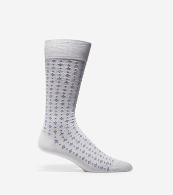 Square Neat Crew Socks