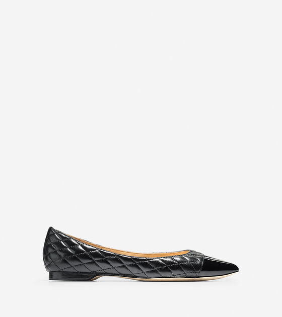 Shoes > Felicity Quilted Skimmer