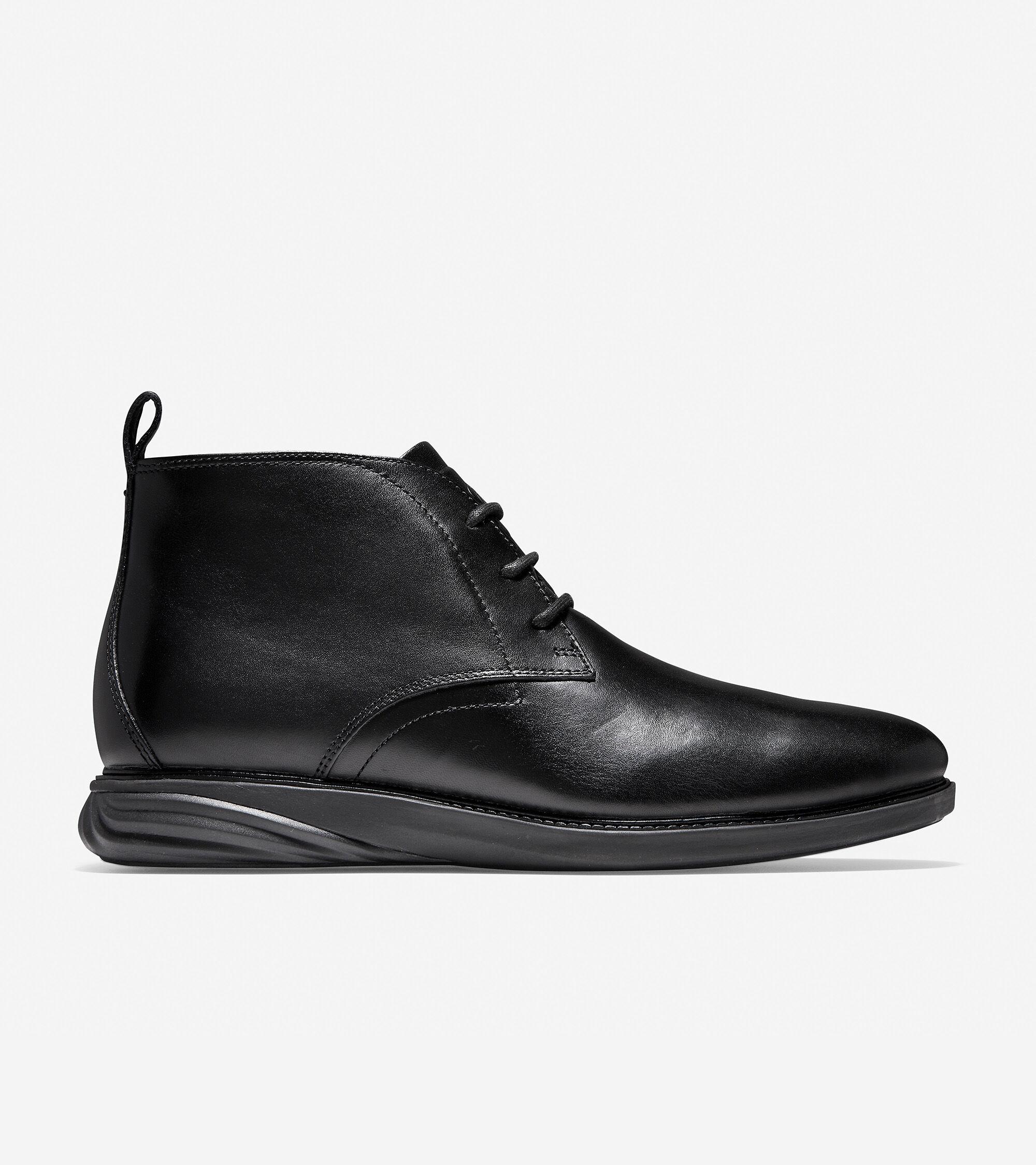 Cole haan black leather gloves - Men S Grandev Lution