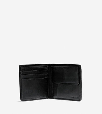 Brayton Weave Bifold Wallet with Coin Pocket