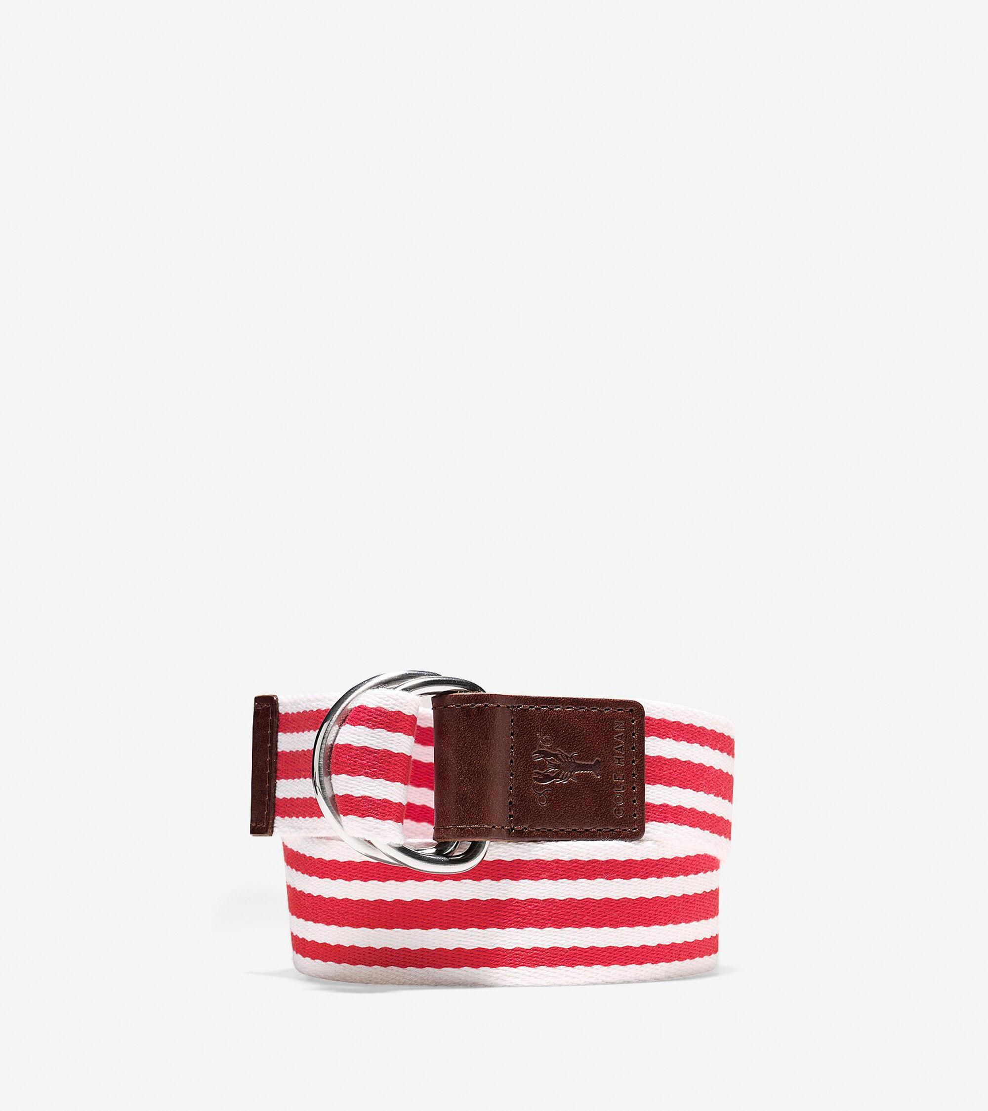 Accessories > Pinch Canvas Belt