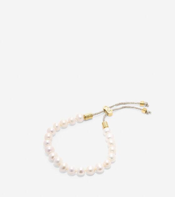 Jewelry > Tali Pearl Fresh Water Pearl Pull Tie Bracelet
