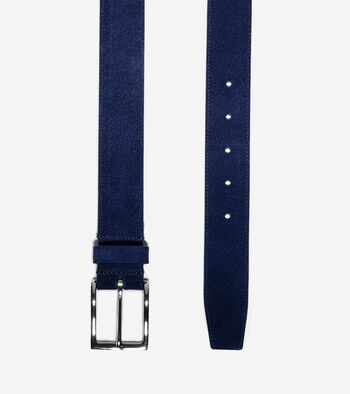 32mm Suede Belt