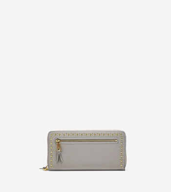 Marli Studded Continental Wallet