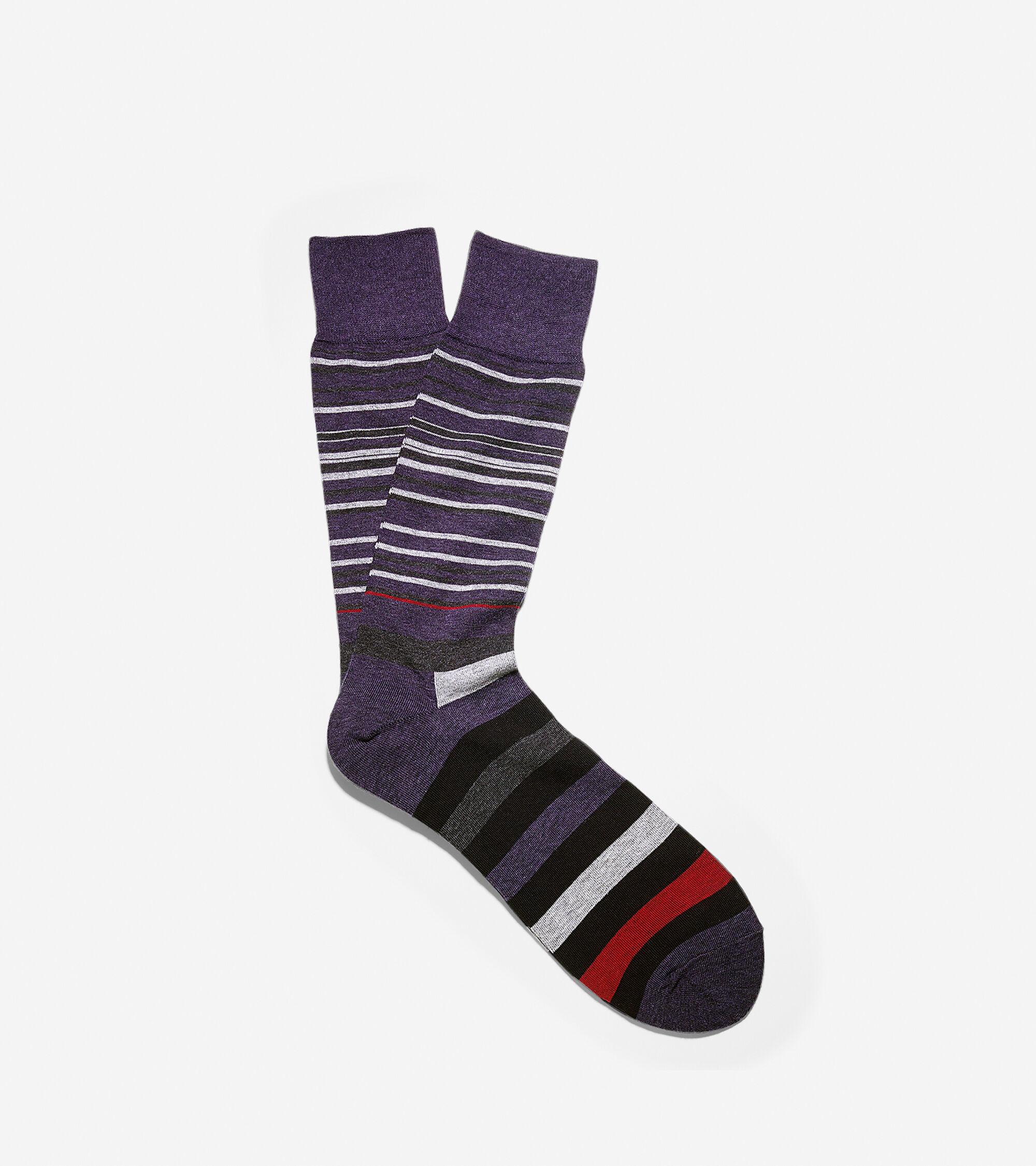 Socks > Town Stripe Crew Socks