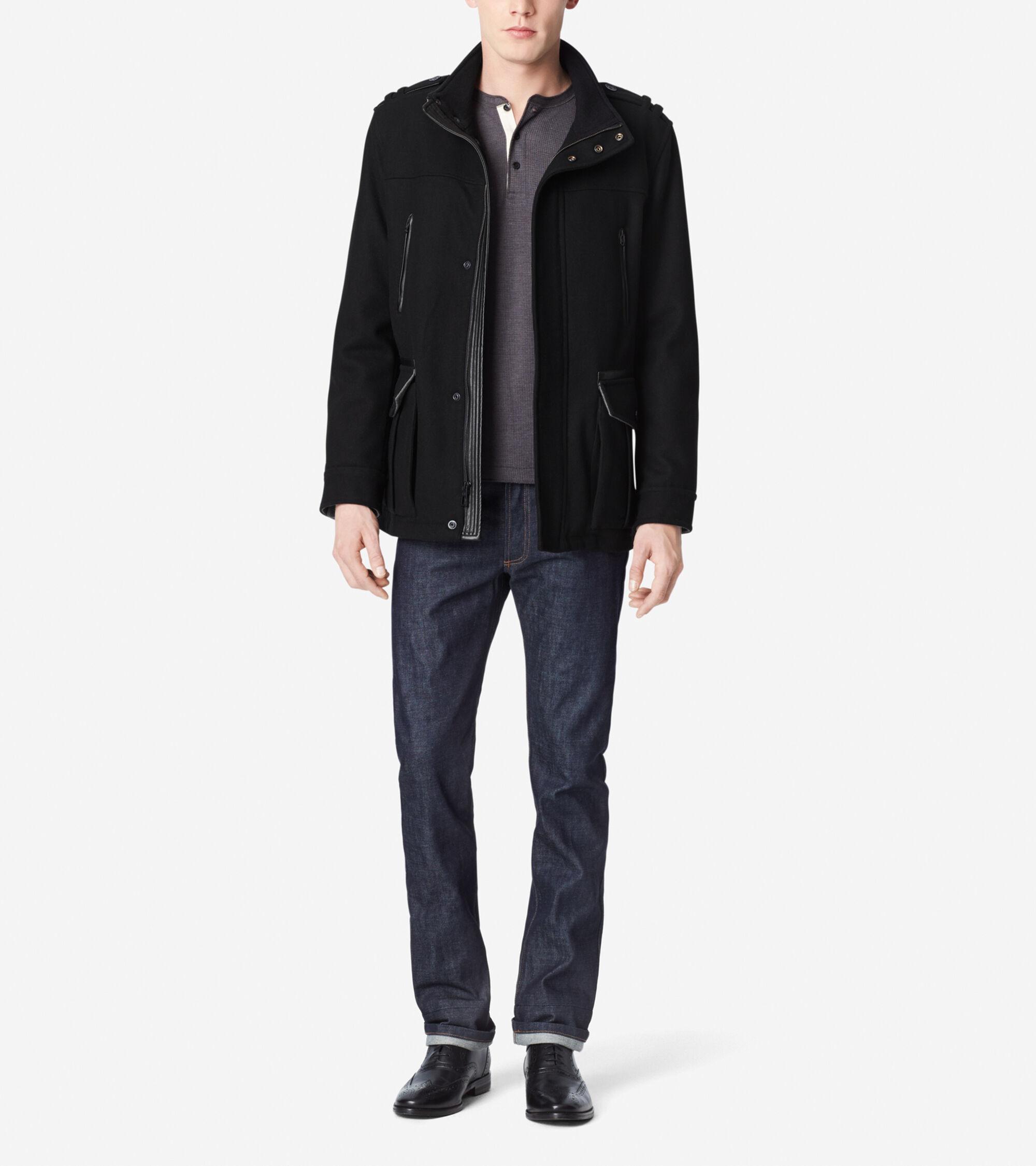 Outerwear > Wool Car Coat