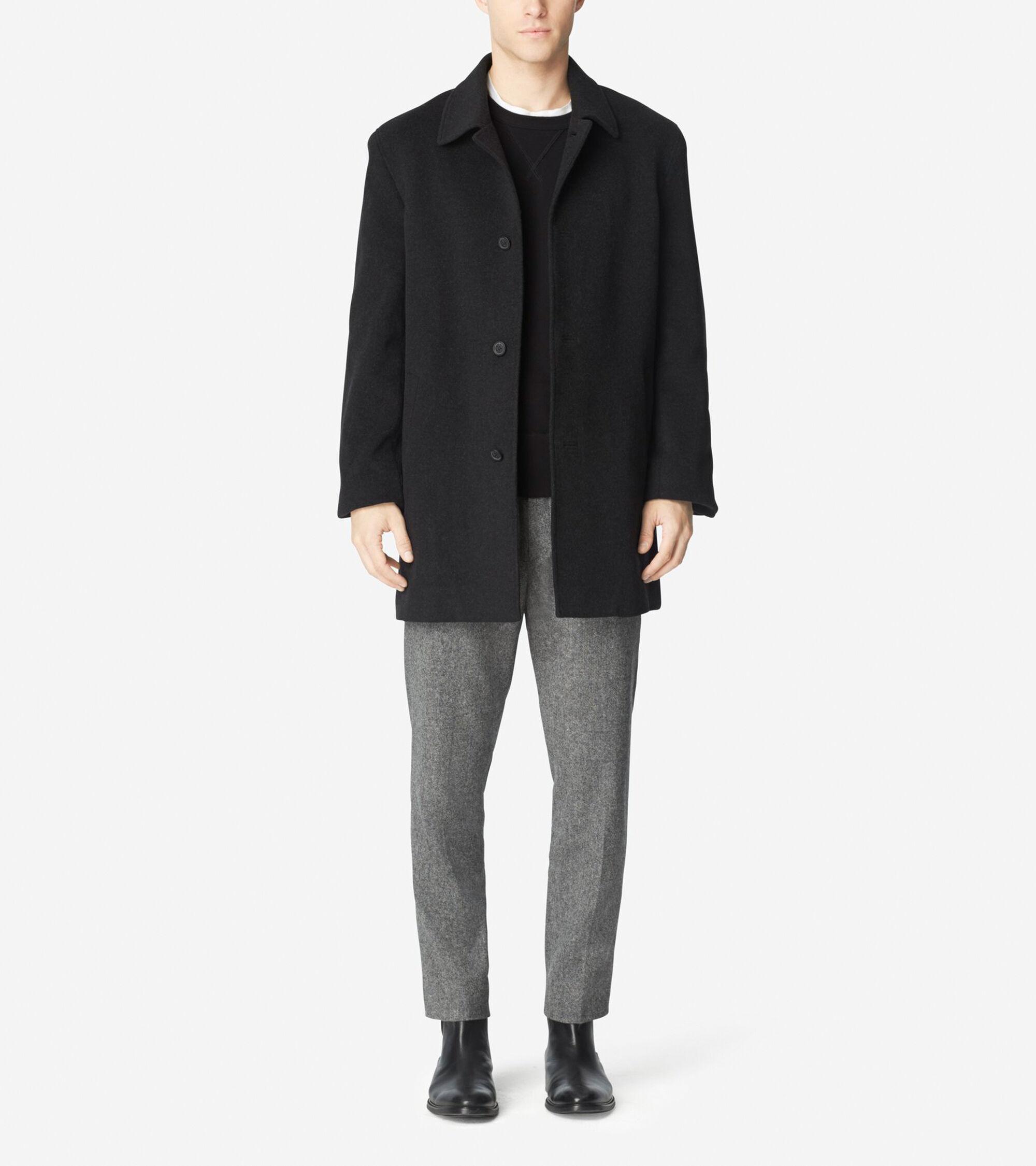Outerwear > Classic Italian Wool Topper