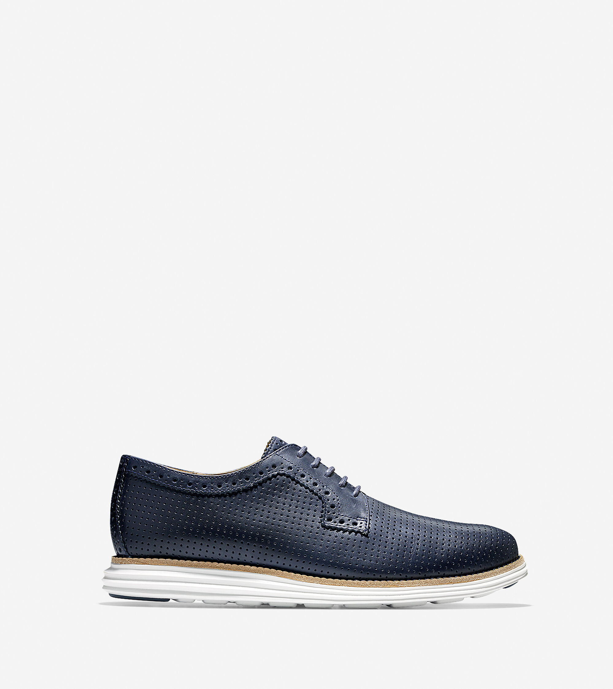 Shoes > LunarGrand Perforated Plain Toe Oxford