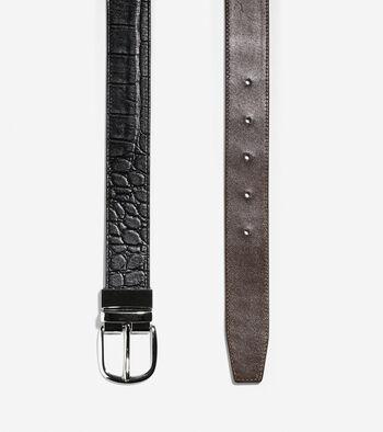 32mm Reversible Croc Belt