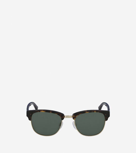 Sunglasses > Acetate/Metal Square Sunglasses