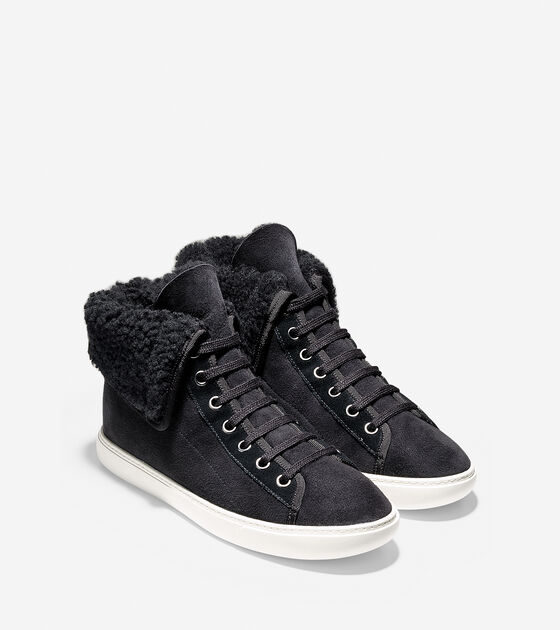 Raven Hightop Sneaker