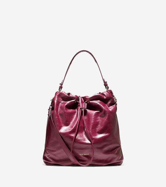 Handbags > Stagedoor Leather Small Studio Bag