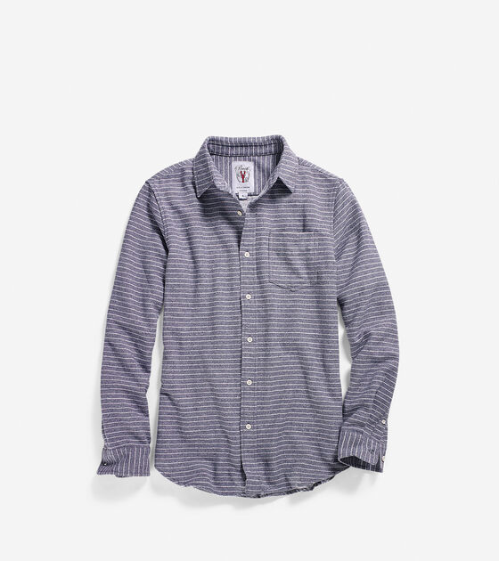 Apparel > Men's Pinch Long Sleeve Stripe Shirt