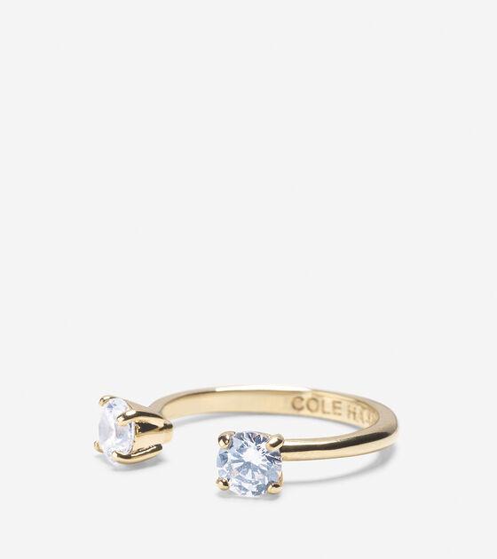 Accessories > CZ Open Stone Ring