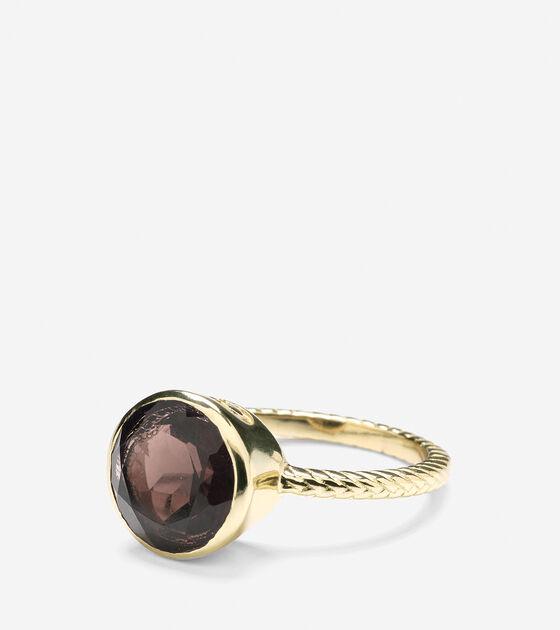 Accessories > Brilliant Cut Semi-Precious Ring