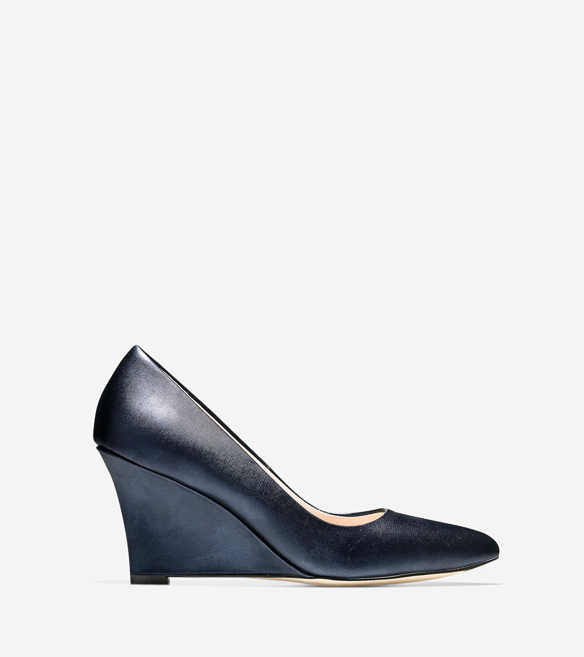 Shoes > Emery Wedge (75mm) - Almond Toe
