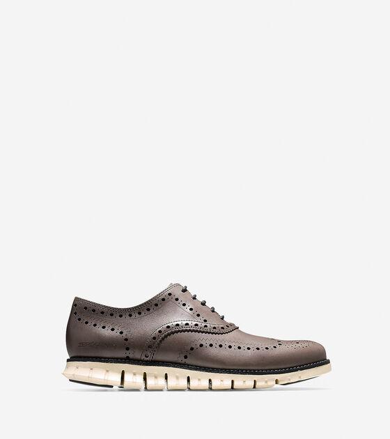 Shoes > ZERØGRAND Water Resistant Wingtip Oxford