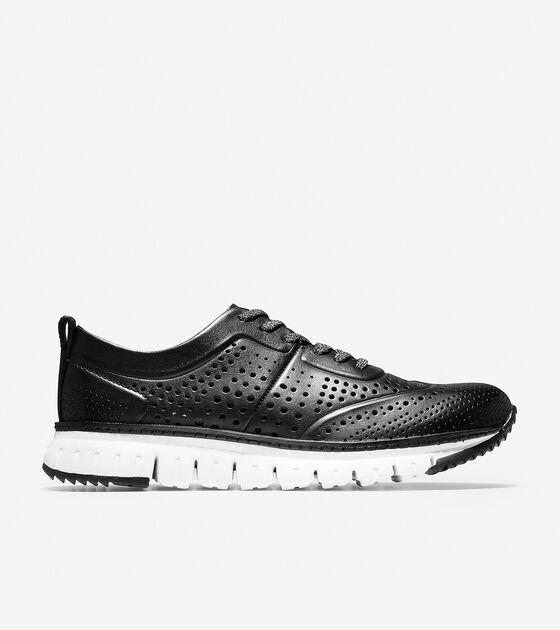 Sneakers > ZERØGRAND Perforated Sneaker