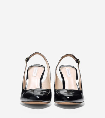 Bethany Sling (85mm) - Almond Toe