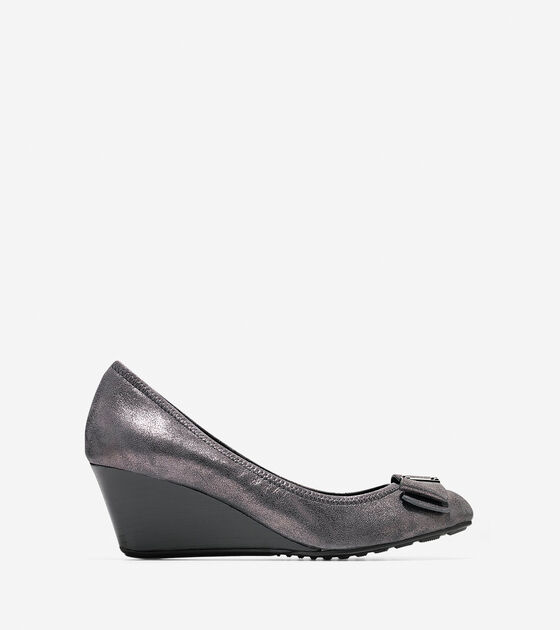 Shoes > Tali Grand Bow Wedge (65mm)