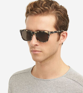 Acetate Square Sunglasses