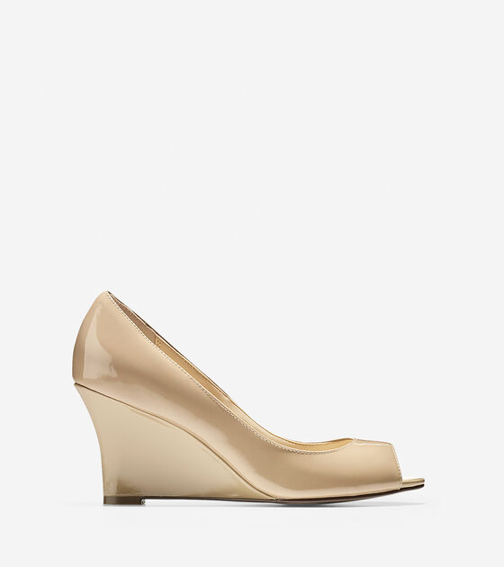 Shoes > Lena Open Toe Wedge (75mm)