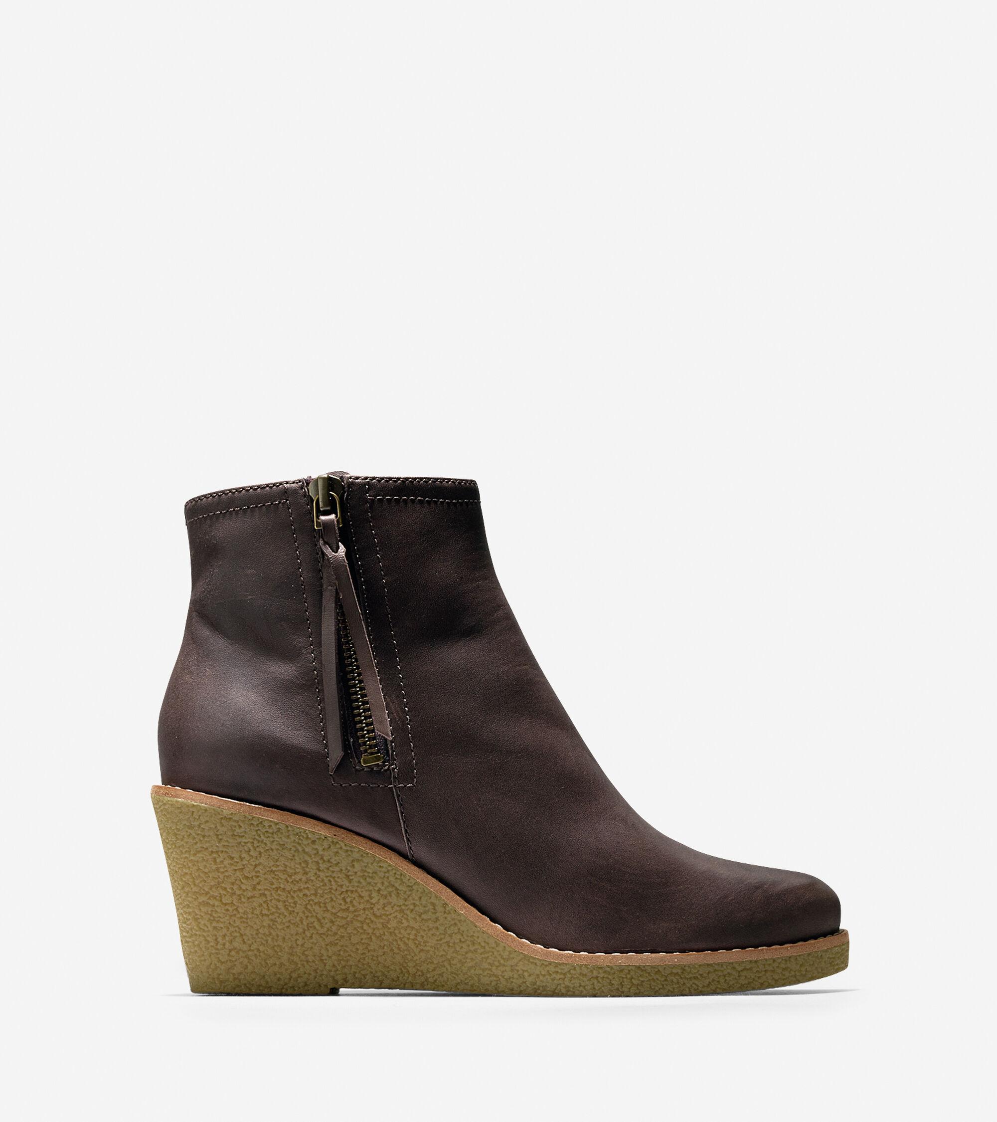 Womens Cole Haan Auden Short Waterproof Boot