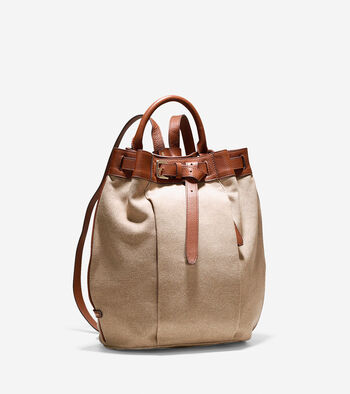 Emery Canvas Backpack