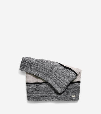 Marl Stripe Neck Warmer
