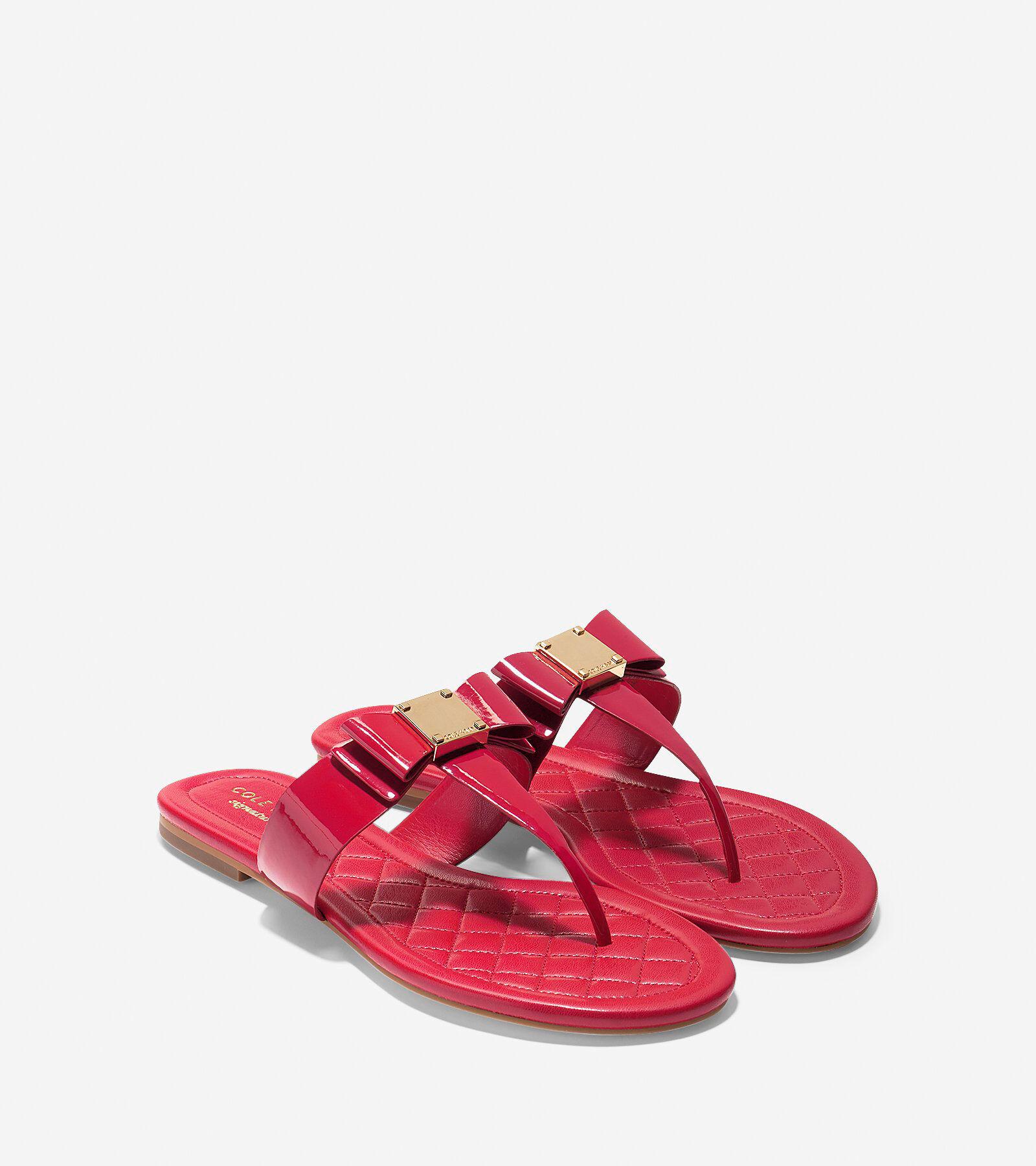 ... Tali Bow Flat Sandal; Tali Bow Flat Sandal. #colehaan