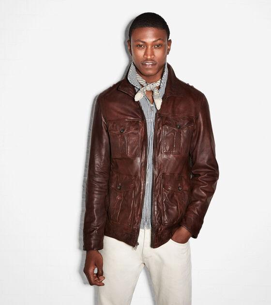 Outerwear > Vintage Lamb Zip Jacket