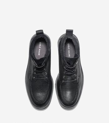 Men's Keaton Waterproof Moc Toe Lace Boot