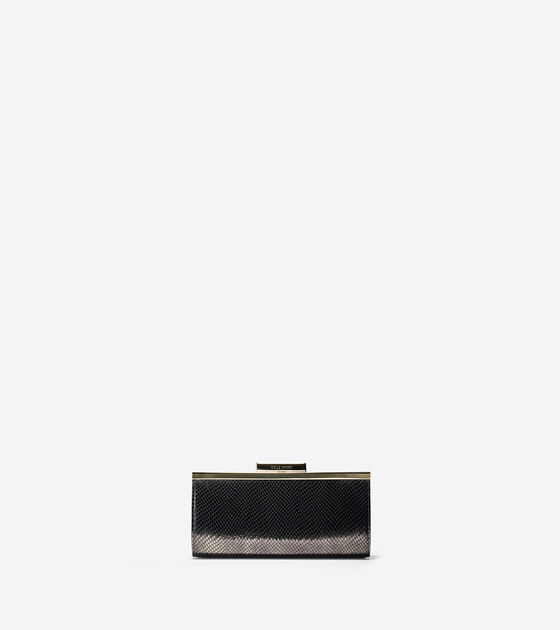 Accessories > Sybil Continental Frame Wallet