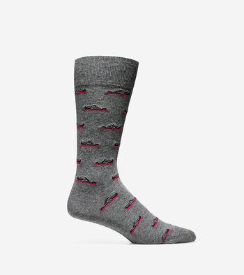 Novelty Grand Crew Socks