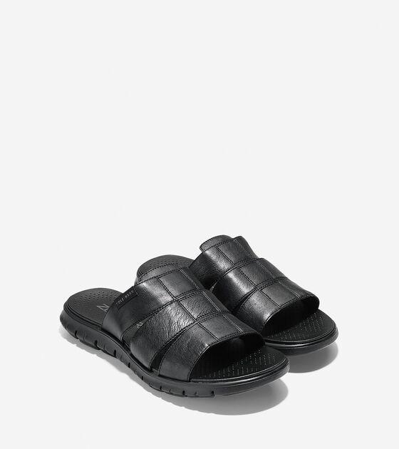Men's ZERØGRAND 3 Strap Slide Sandal