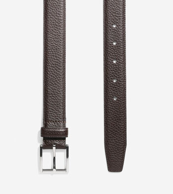 32mm Pebble Leather Belt