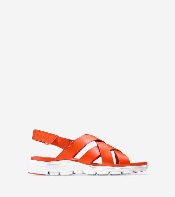 Sandals > ZERØGRAND Criss Cross Sandal