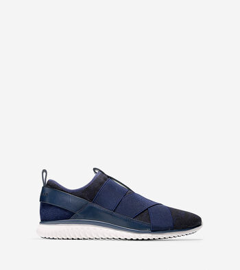 StudiøGrand Knit Cross-Strap Sneaker