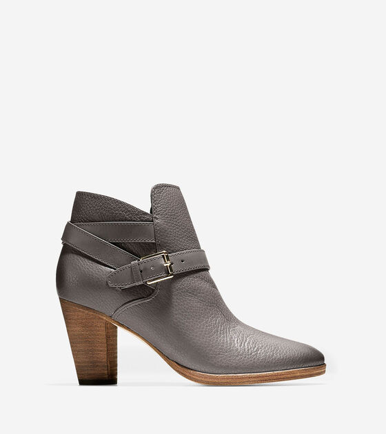 Boots & Booties > Hayes Strap Bootie (75mm)