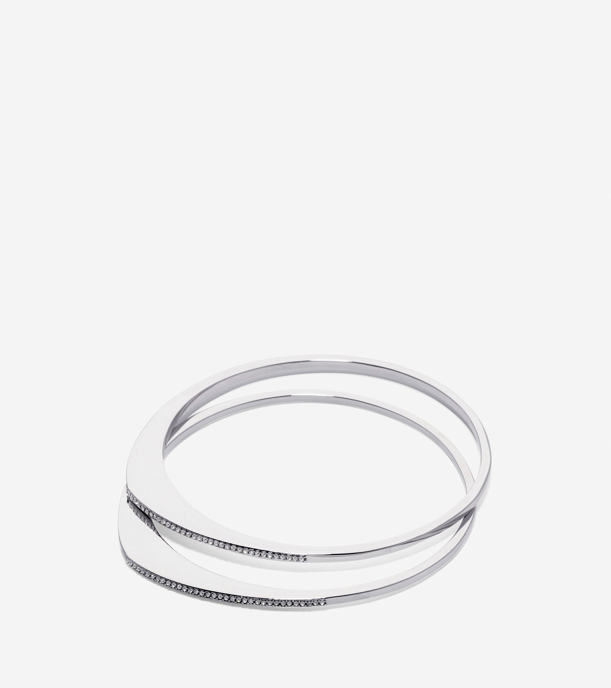 bracelets brace bangle mera diamond pave nicole bangles
