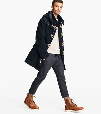Cole Haan + Fidelity Made in America Duffle Coat