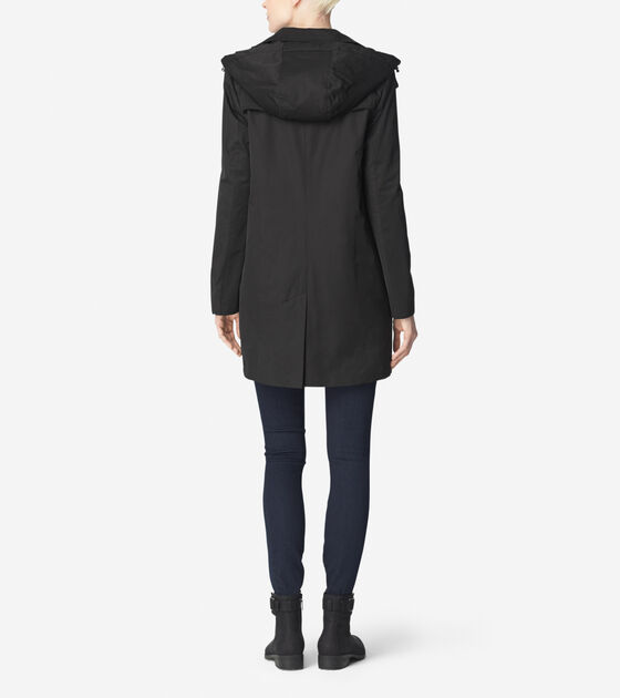 Single Breasted Rain Jacket