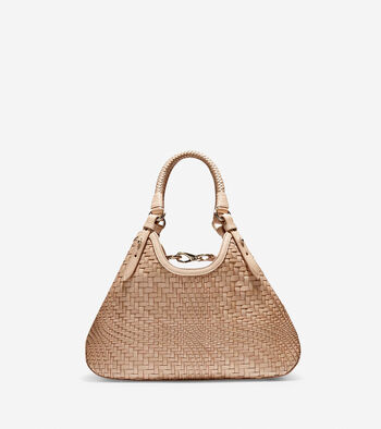 Genevieve Small Triangle Tote