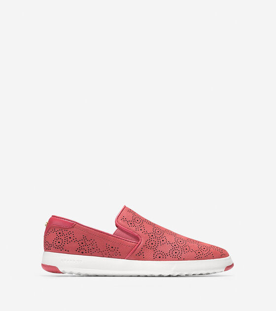 Sneakers > Women's GrandPrø Paisley Perforated Slip On Sneaker