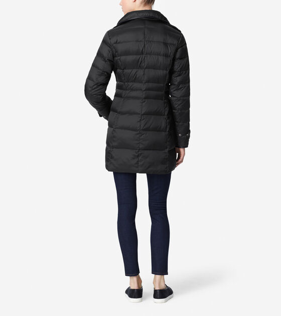 Silky Touch Down Coat