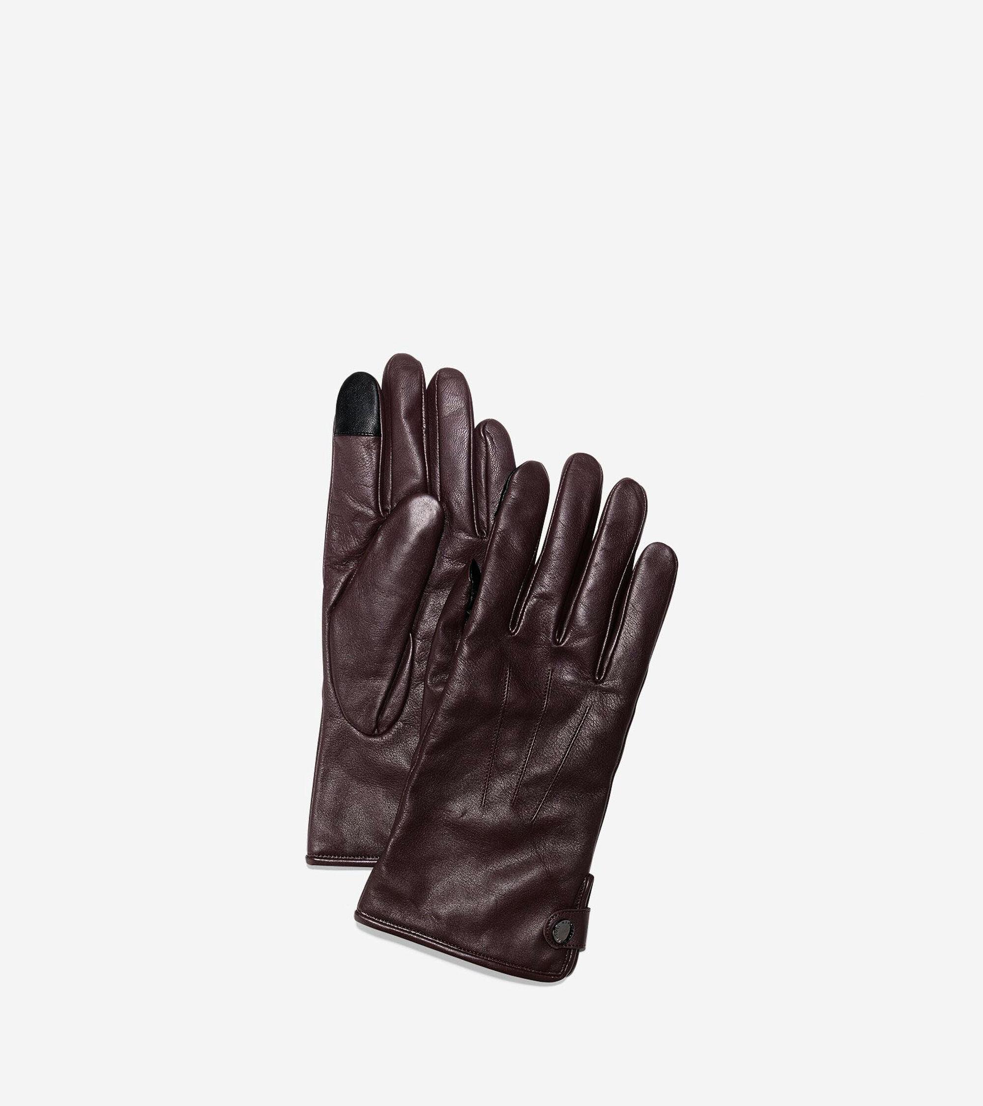 Gloves > Men's Side Snap Gloves With Center Points