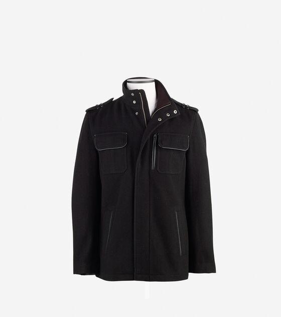 Outerwear > Italian Twill Military Jacket